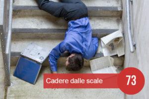 cadere dalle scale