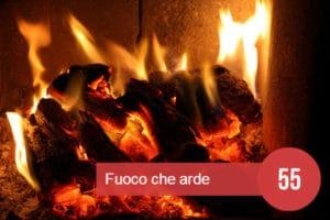 sognare fuoco che arde