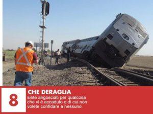 sognare un treno che deraglia