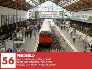sognare un treno in partenza