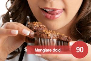 sognare di mangiare dolci
